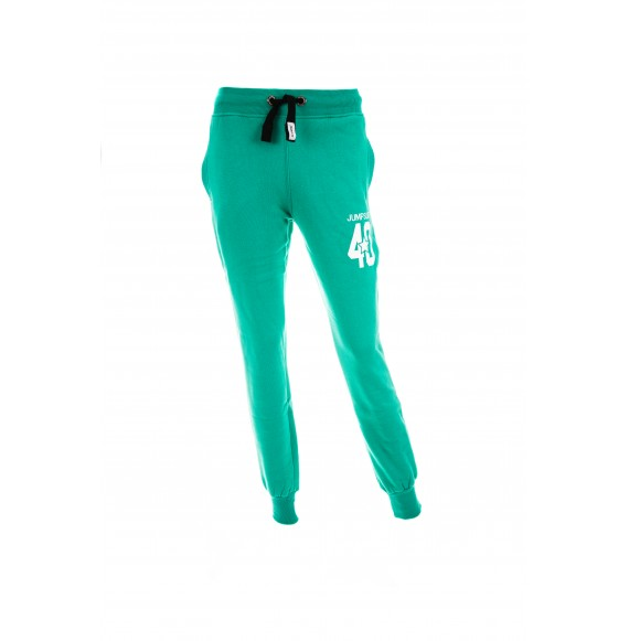 PANTS WOMEN SLIM 40 GREEN
