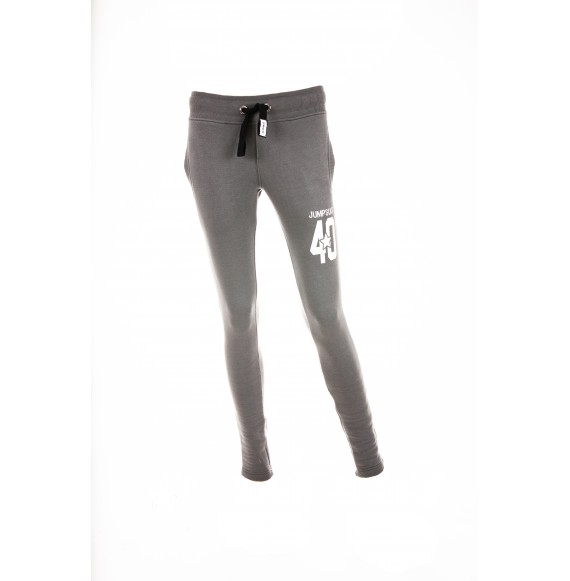 PANTS WOMEN SKINNY 40 GREY