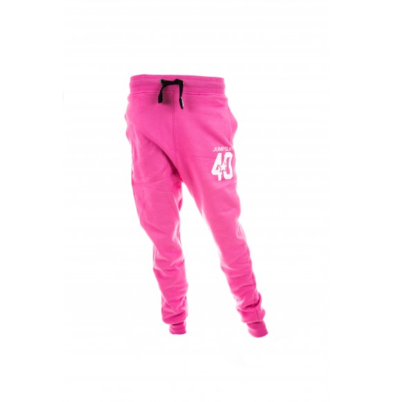 PANTS WOMEN LOOSE 40 PINK