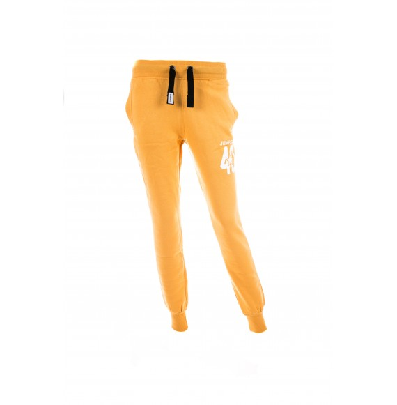 PANTS WOMEN SLIM 40 YELLOW