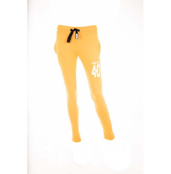 PANTS WOMEN SKINNY 40 YELLOW