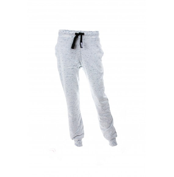 PANTS WOMEN SLIM ORGANIC WHITE