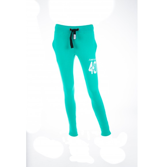 PANTS WOMEN SKINNY 40 GREEN