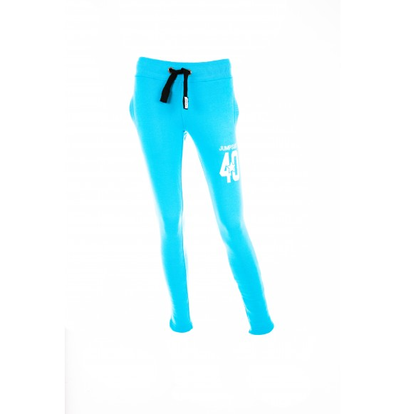 PANTS WOMEN SKINNY 40 BLUE