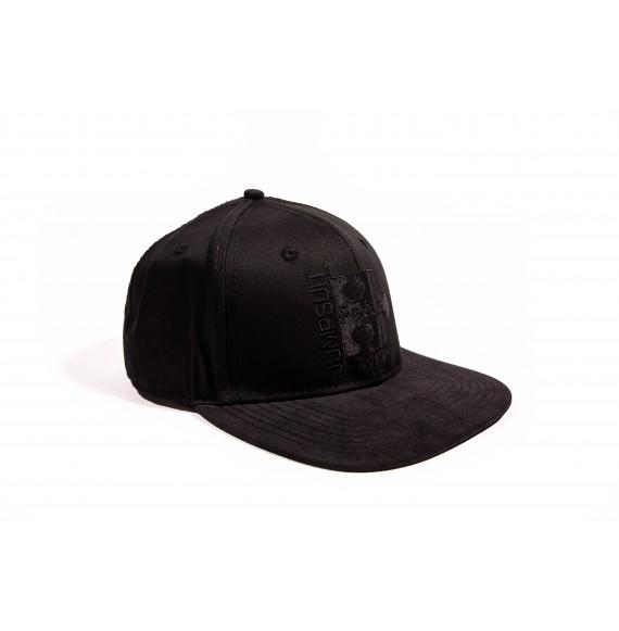 SNAPBACK BLACK / BLACK SUEDE
